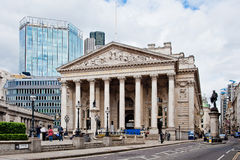 Royal Exchange London Stock Image