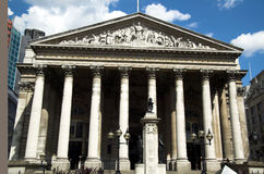 Royal Exchange (London) Royalty Free Stock Photography