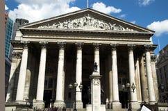 Royal Exchange (London) Royalty Free Stock Photography