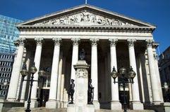 Royal Exchange (London) royalty free stock photo