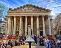 The Royal Exchange London Royalty Free Stock Image