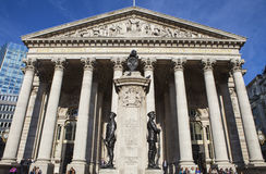 The Royal Exchange in London Stock Photography