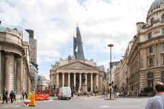 Royal Exchange, London Royalty Free Stock Image