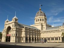 Royal Exhibition Building, Melbourne, Australia Royalty Free Stock Image