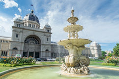 Royal Exhibition Building in Melbourne Stock Photos