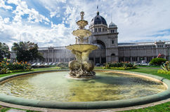 Royal Exhibition Building in Melbourne Royalty Free Stock Photos