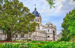 Royal Exhibition Building, a UNESCO world heritage site in Melbourne, Australia Stock Photography