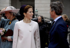 ROYAL FAMILY ARRIVES AT DANISH PARLIAMENT OPENING Stock Images