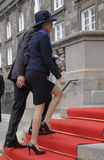 ROYAL FAMILY ARRIVES AT DANISH PARLIAMENT OPENING Stock Photo