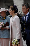 ROYAL FAMILY ARRIVES AT DANISH PARLIAMENT OPENING Stock Photos