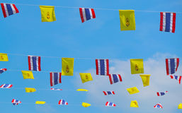 The Royal flag of Thailand Stock Image