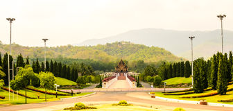 Royal flora park , The north of Thailand Stock Image