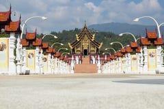 The Royal Flora Ratchaphruek chiangmai Royalty Free Stock Photos