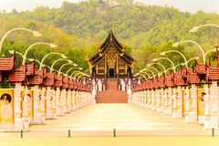Royal Flora Ratchapruek. Chiang Mai,Thailand Royalty Free Stock Photo
