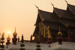 Royal Flora temple (ratchaphreuk)in Chiang Mai,Thailand Royalty Free Stock Photos