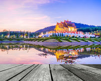 Royal Flora temple (ratchaphreuk)in Chiang Mai,Thailand Stock Images