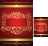 Royal Floral Background Stock Images