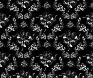 Royal floral ornament Royalty Free Stock Images