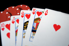 Royal Flush 1 Stock Image