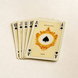 Royal-flush. Playing cards. Poker Royal-flush Royalty Free Stock Photos