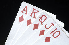Royal Flush 2 Royalty Free Stock Photography