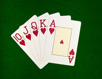 Royal Flush Stock Images