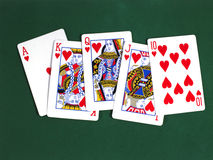 Royal Flush 2 Lizenzfreies Stockbild