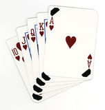 Royal_flush Stock Photos