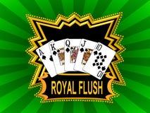 Royal flush Royalty Free Stock Photography