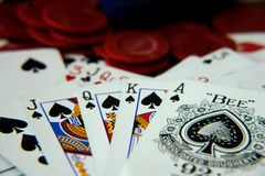 Free Royal Flush Stock Images - 5712634