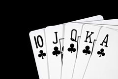Royal Flush Stock Photos