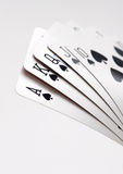 Royal flush of spades Royalty Free Stock Images