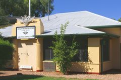 Royal Flying Doctor Service,Alice Springs,AUS Stock Photo