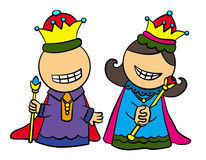 Royal folks Royalty Free Stock Photo