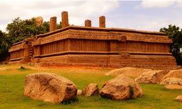 The royal fort at mahabalipuram Stock Photography