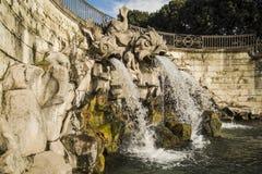 Royal fountain Stock Image