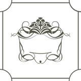 Royal frame Stock Photography