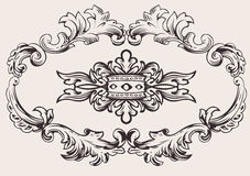 Royal Frame Decoration Vector Royalty Free Stock Photo