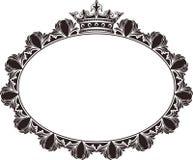 Royal frame Stock Images