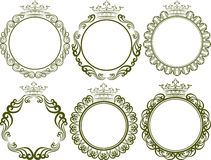 Royal frames Stock Photography