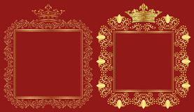 Royal frames Stock Photos