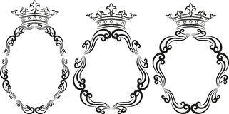 Royal frames Stock Photo