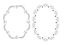 Royal frames. Silhouette Royal frames - vector illustration vector illustration