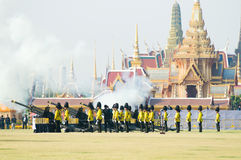 Royal Funeral in Bangkok, April 2012 Royalty Free Stock Image