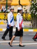 Royal Funeral in Bangkok, April 2012 Stock Photography