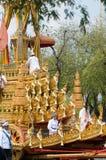 Royal Funeral in Bangkok, April 2012 Royalty Free Stock Image