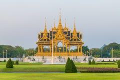 Royal funeral pyre of King Bhumibol of Thailand. Royal funeral pyre of King Bhumibol within Dusit Palace in Bangkok, Thailand stock image