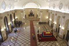 Royal funeral of Queen Anne of Romania Stock Photography