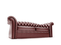 Royal furniture isolated front view Royalty Free Stock Photo