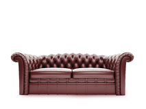 Royal furniture isolated front view Stock Photo